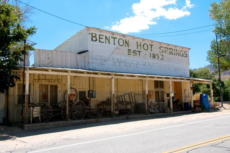 Old store at Benton Hot Springs